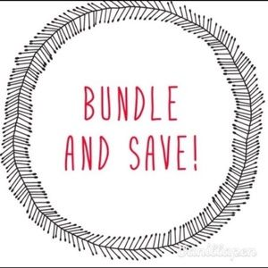 🖤 BUNDLE AND SAVE FOR DEALS 🖤